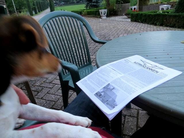 Pukkie leest ook het kerkblad