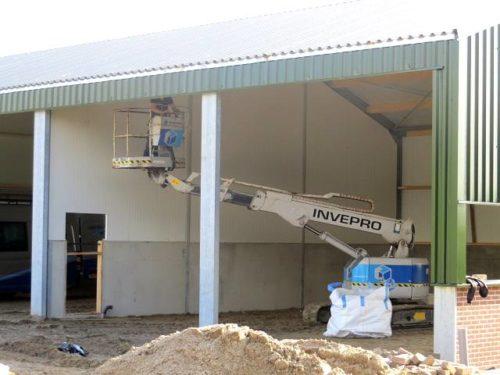 Nieuwbouw werkplaats